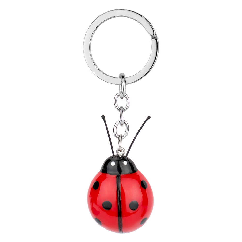 Keyring Ladybird Made With Resin by JOE COOL