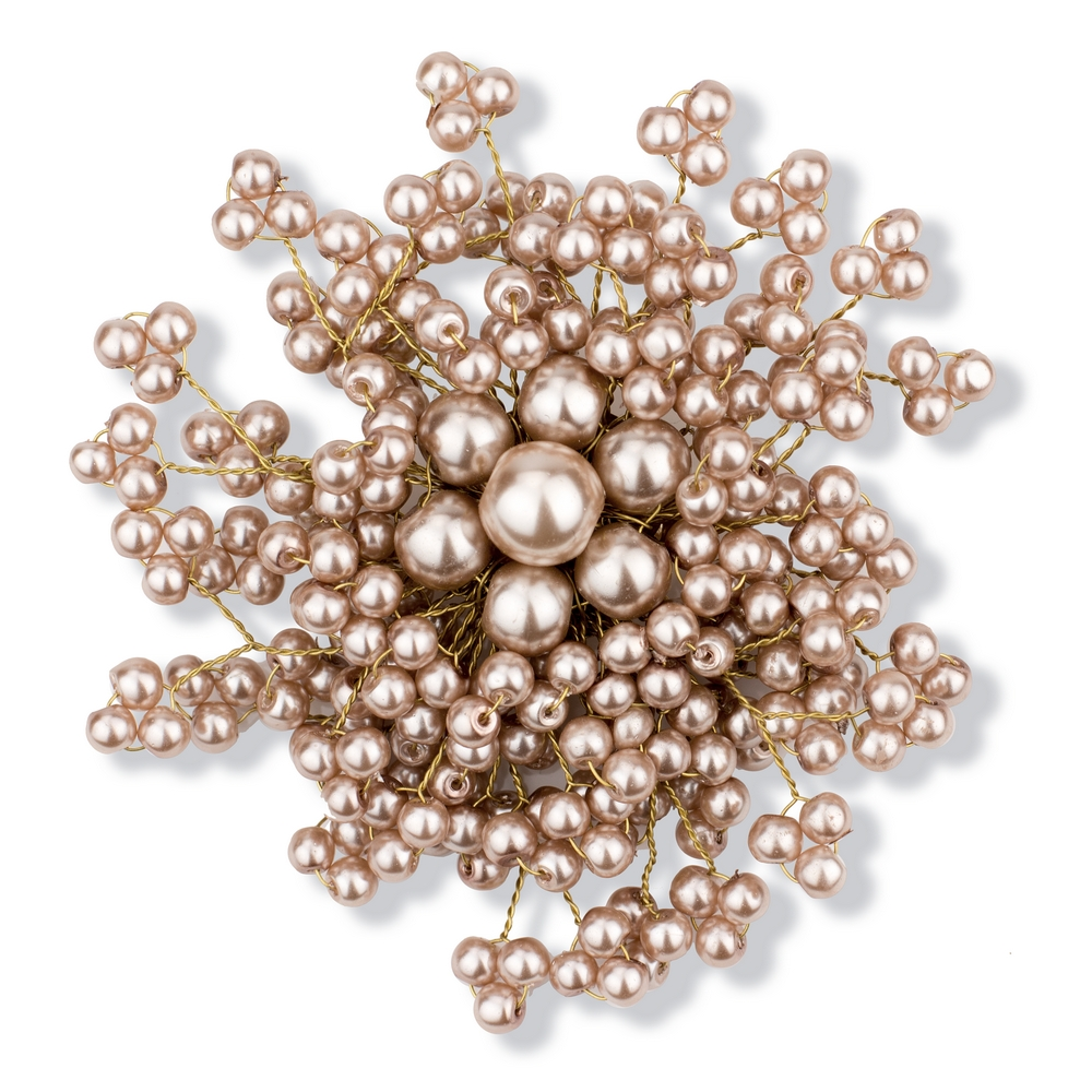 Brooch Pearl Burst Made With Resin & Tin Alloy by JOE COOL