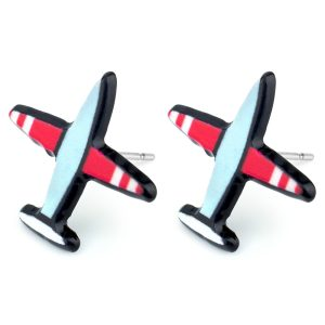 Stud Earring Spitfire Made With Tin Alloy & Acrylic by JOE COOL