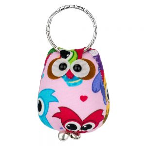 Keyring Owl Made With Cotton by JOE COOL
