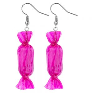 Drop Earring Sweets Made With Resin by JOE COOL