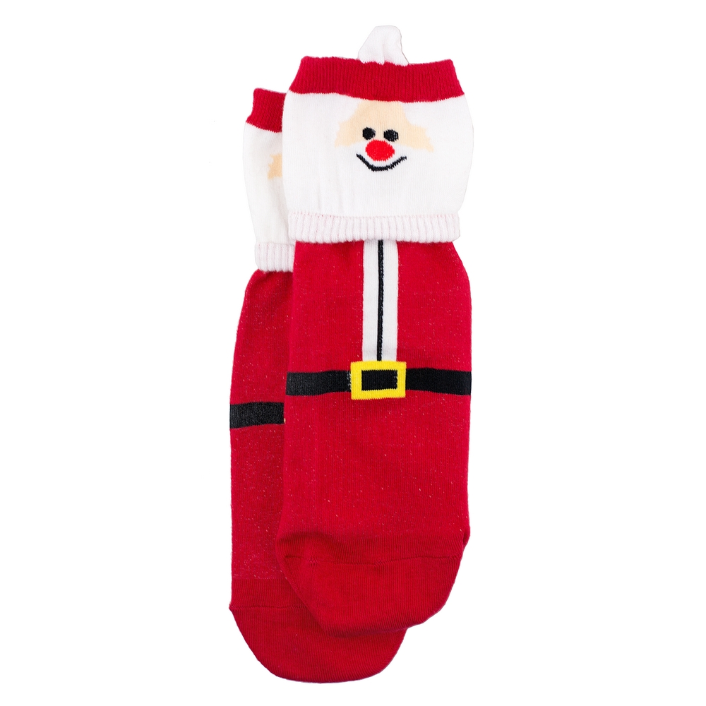 Socks Santa Claus Made With Cotton & Spandex by JOE COOL
