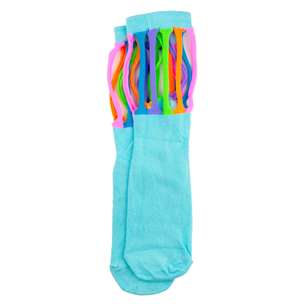 Socks Neon Loops Made With Cotton & Polyester by JOE COOL