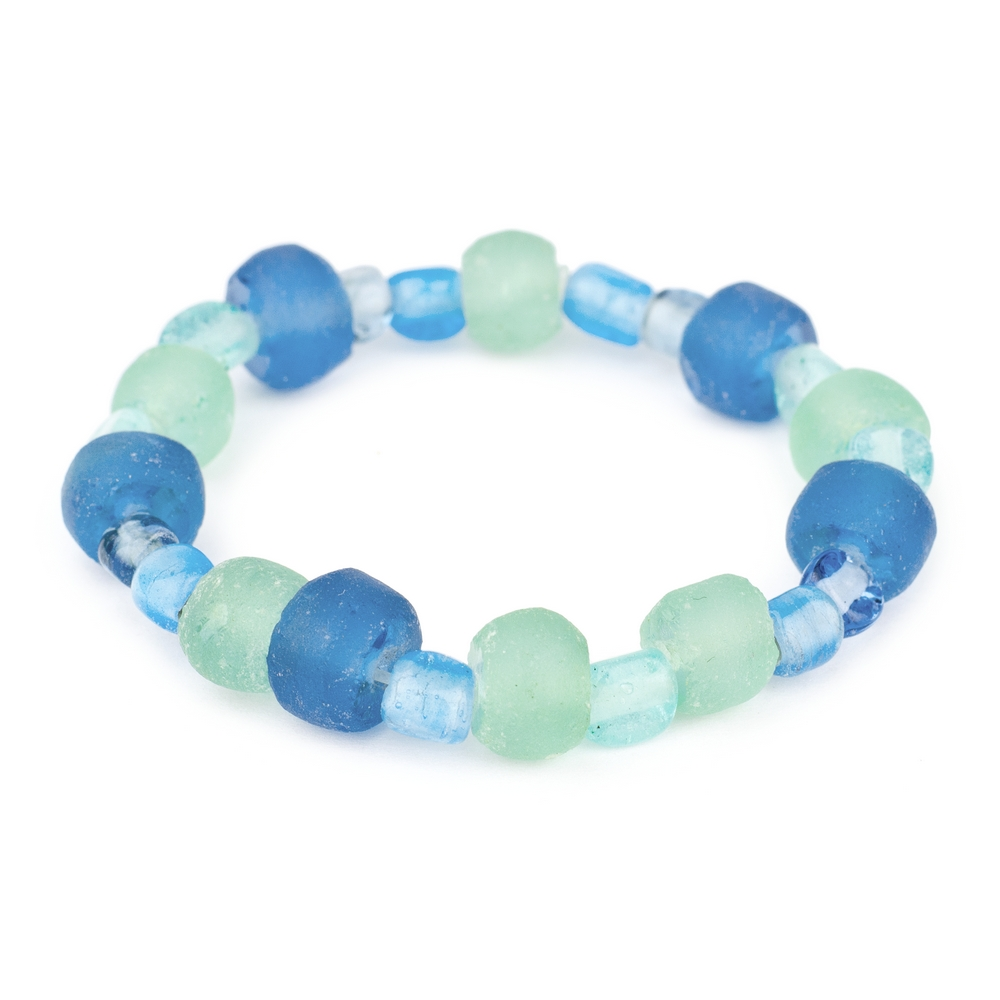 Bracelet Deep Sea Glass by JOE COOL