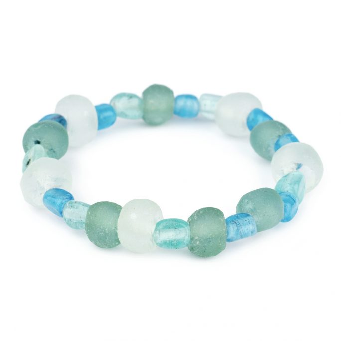 Bracelet Seashore Sea Glass by JOE COOL