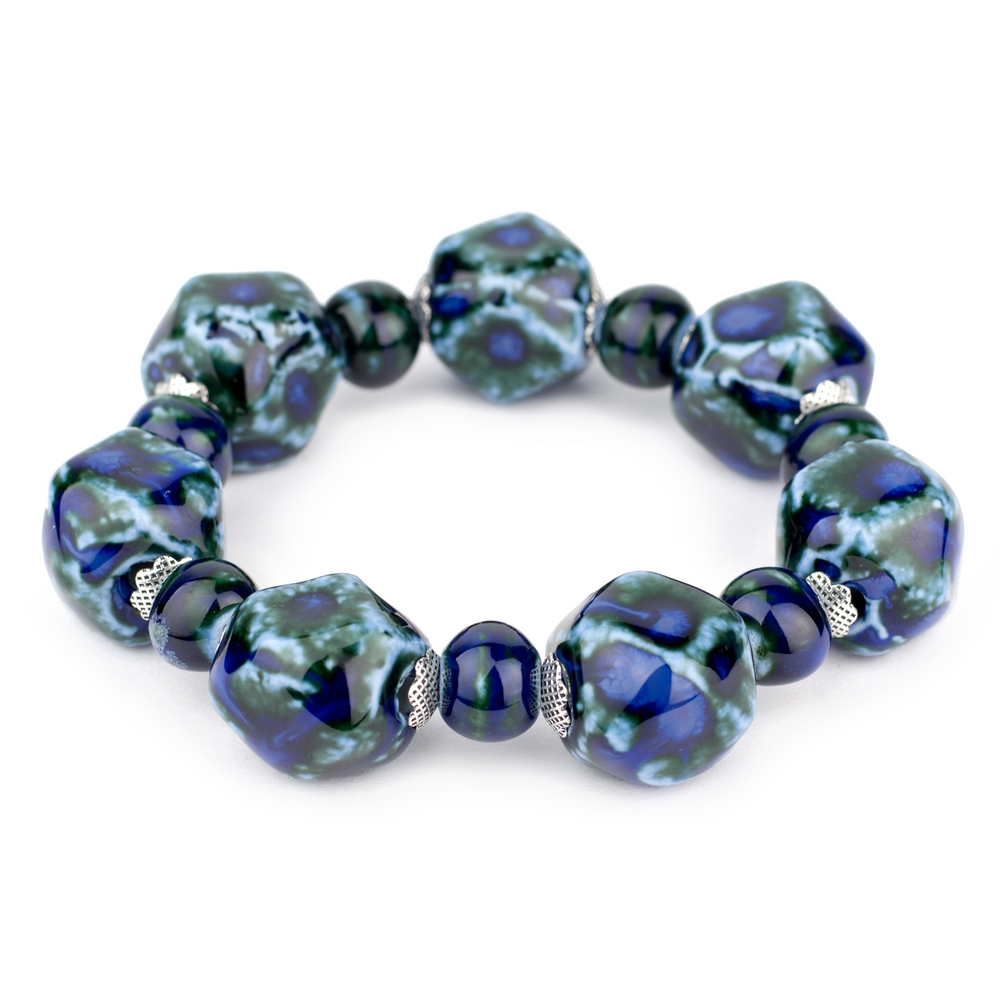 Bracelet Dynasty Hexagonal Made With Ceramic by JOE COOL
