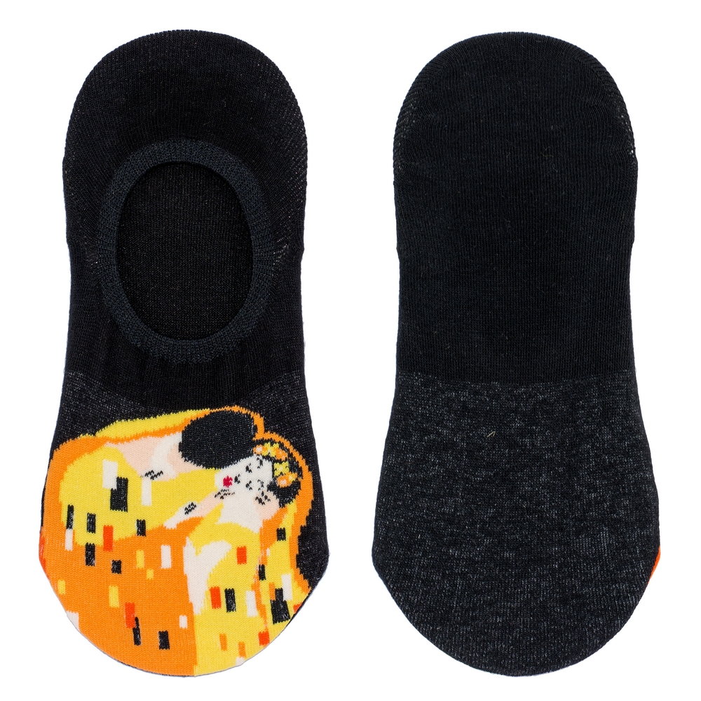 Socks No-show Klimt The Kiss Made With Cotton & Spandex by JOE COOL