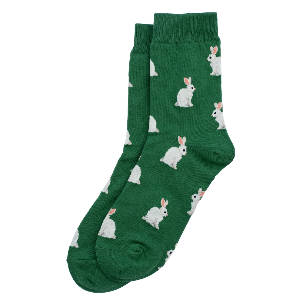 Socks Rabbit Warren Made With Cotton & Spandex by JOE COOL