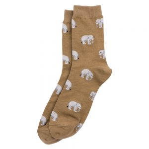 Socks Gents Elephant Herd Made With Cotton & Nylon by JOE COOL