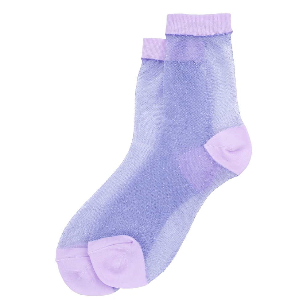 Socks Sheer Jacquard Made With Cotton & Spandex by JOE COOL