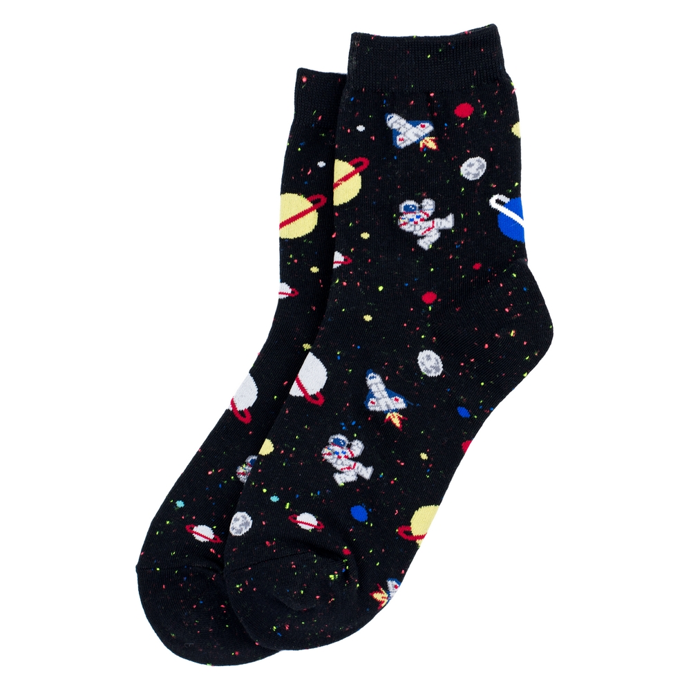 Socks Rocket Launch Made With Cotton & Spandex by JOE COOL
