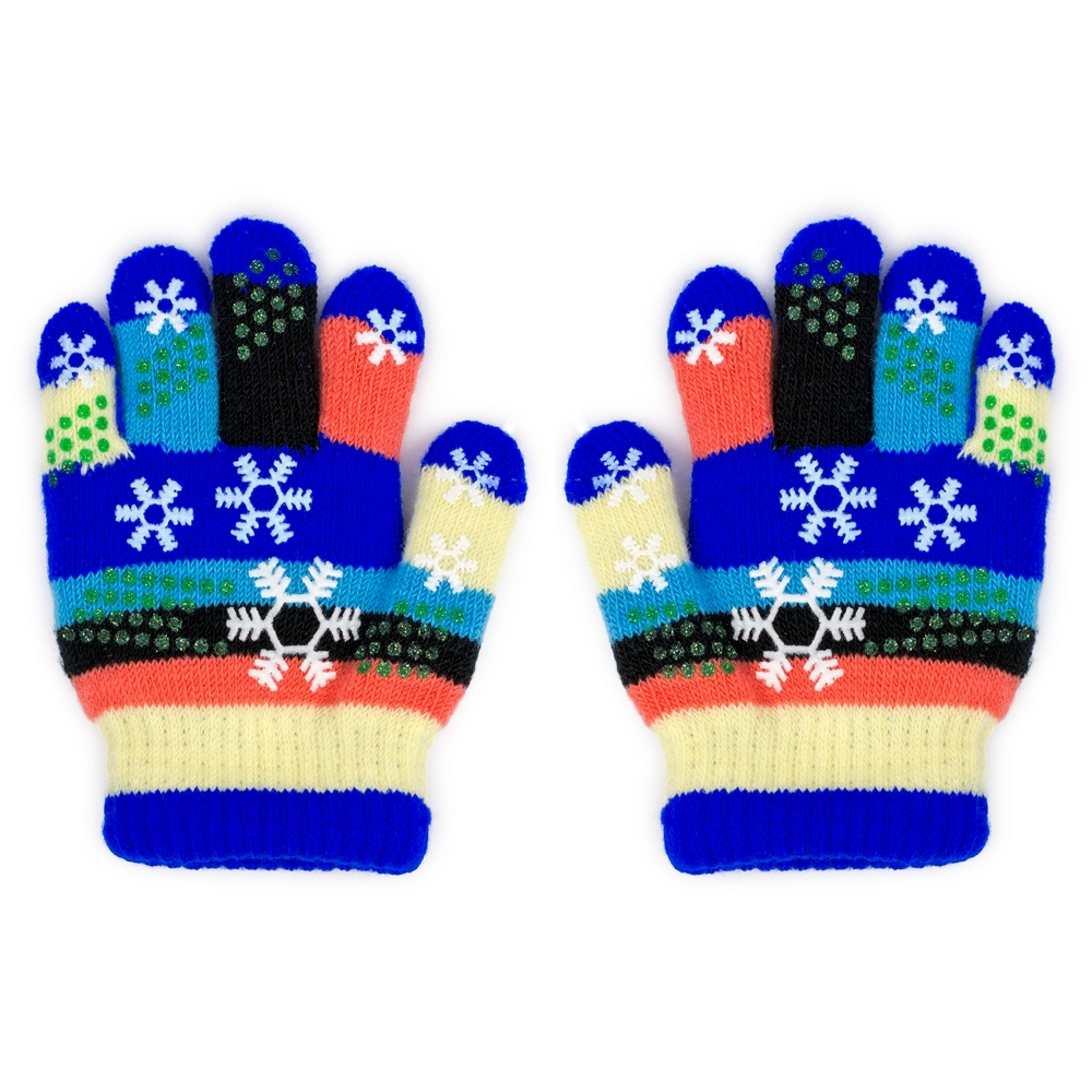 Gloves Infant Snowflake Made With Acrylic by JOE COOL
