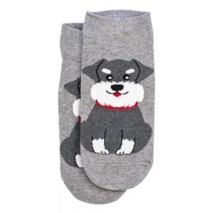 Socks Ankle Schnauzer Made With Cotton & Spandex by JOE COOL