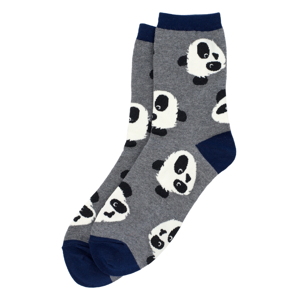 Socks Panda Face Made With Cotton & Spandex by JOE COOL