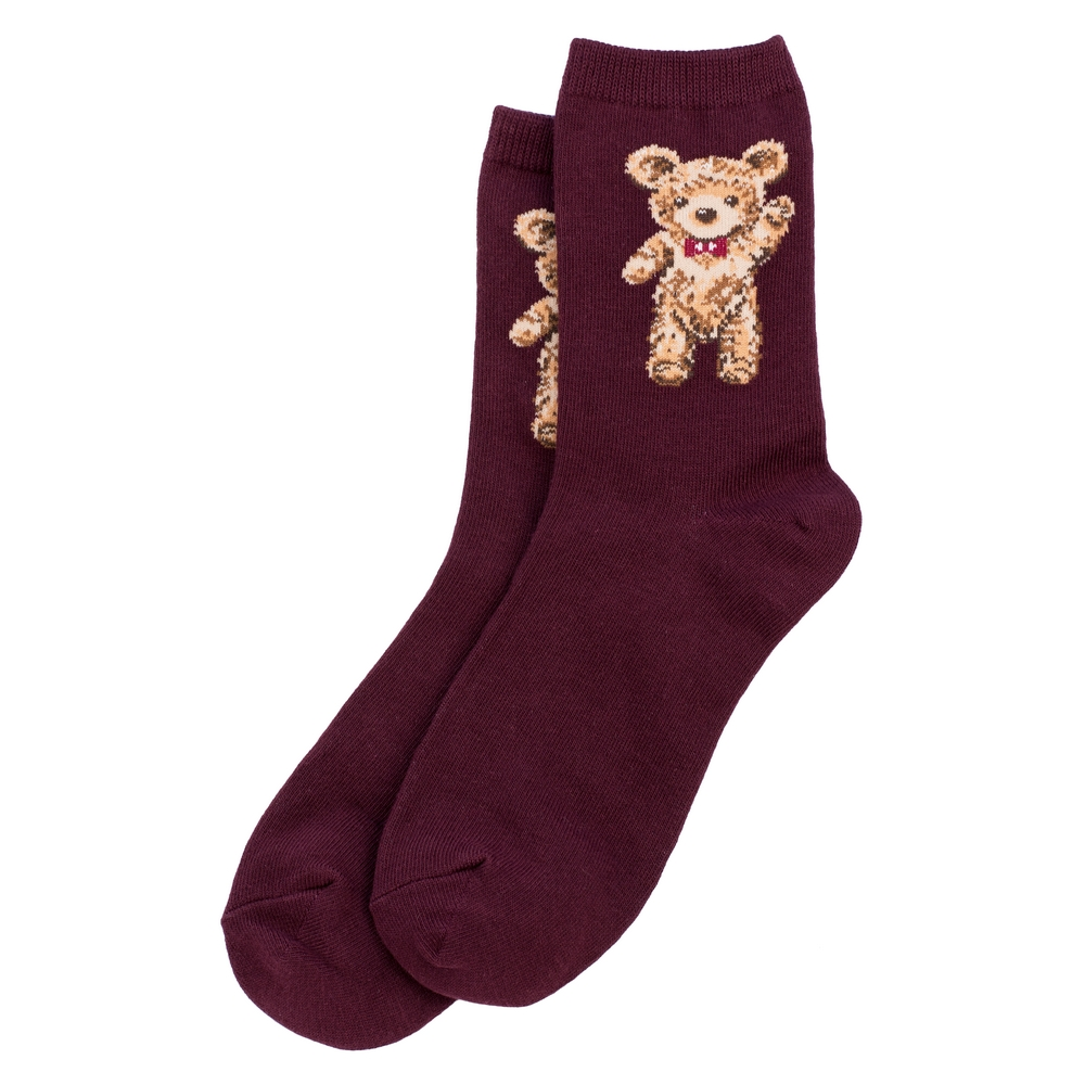 Socks Teddy Bear Made With Cotton & Spandex by JOE COOL