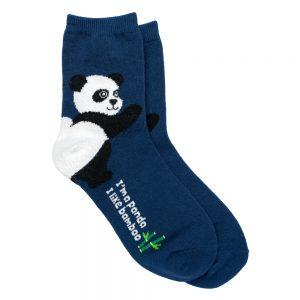 Socks Panda Heel Made With Cotton & Spandex by JOE COOL