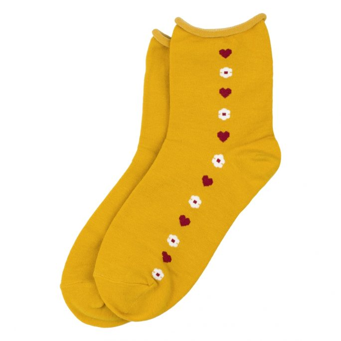 Socks Love Line Made With Cotton & Spandex by JOE COOL