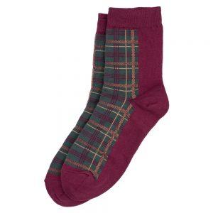 Socks Winter Tartan Check Made With Cotton & Spandex by JOE COOL