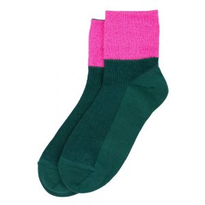 Socks Neon Glitter Made With Cotton & Spandex by JOE COOL