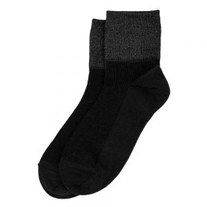 Socks Glitter Made With Cotton & Spandex by JOE COOL