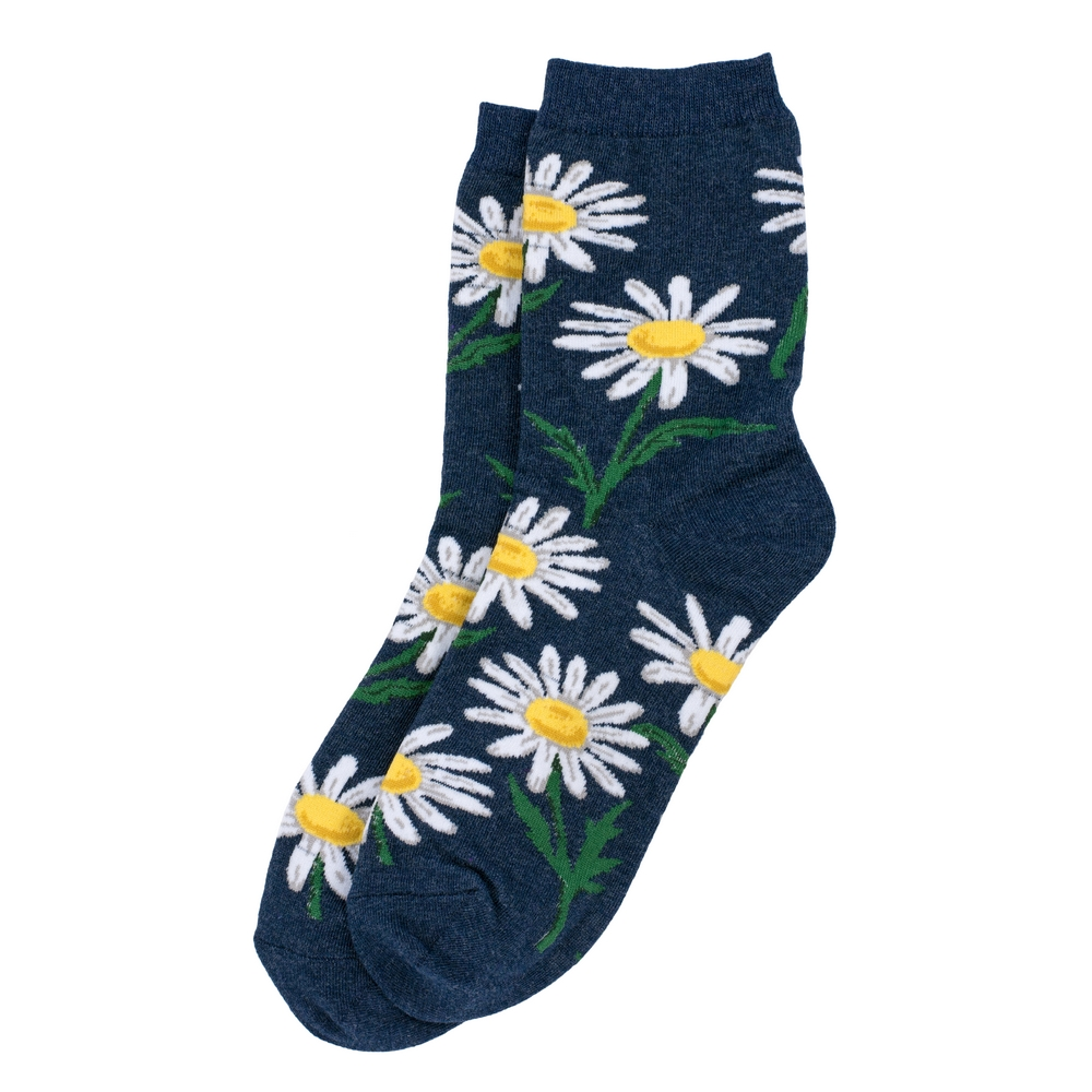 Socks Daisy Made With Cotton & Spandex by JOE COOL