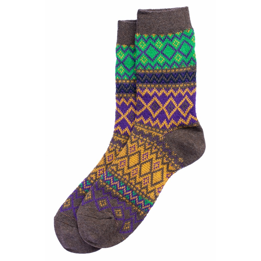 Socks Jacquard Made With Cotton by JOE COOL