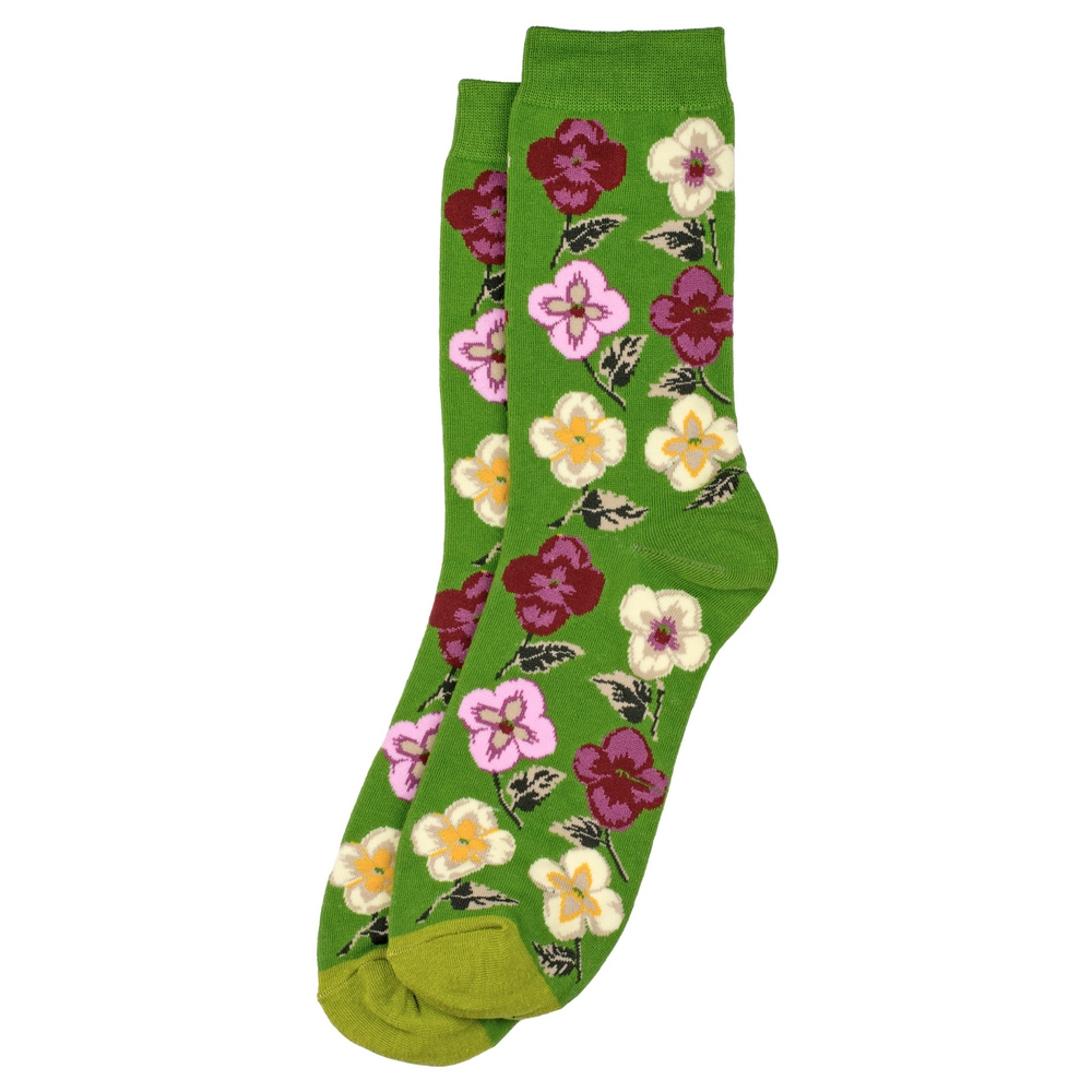 Socks Climbing Flower Made With Cotton & Spandex by JOE COOL