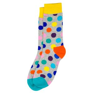 Socks Spotty Made With Cotton & Spandex by JOE COOL