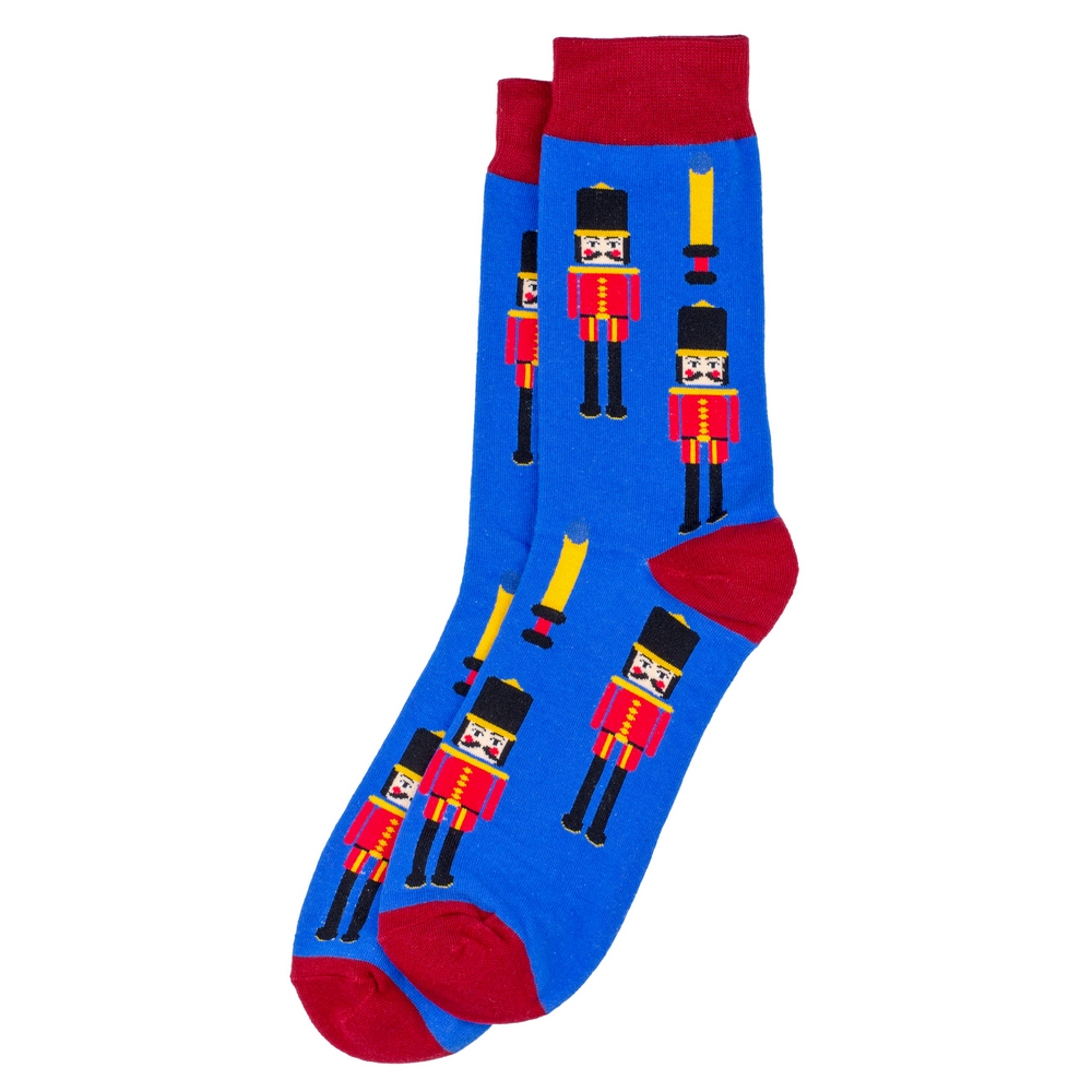 Socks Marching Soldier Made With Cotton & Spandex by JOE COOL