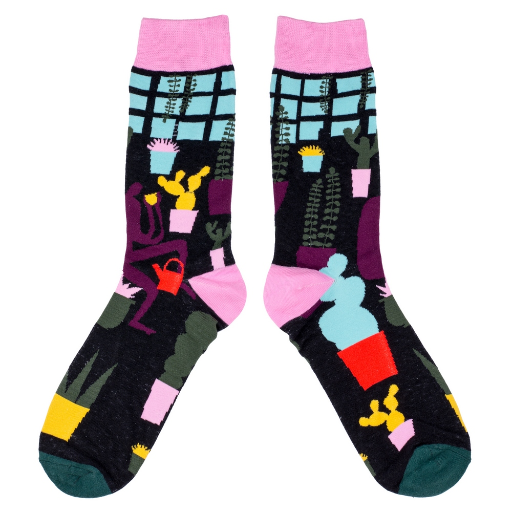 Socks Windowsill Made With Cotton & Spandex by JOE COOL