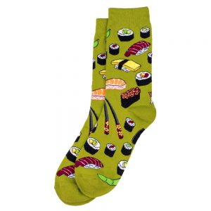 Socks Oishi Sushi Made With Cotton & Spandex by JOE COOL