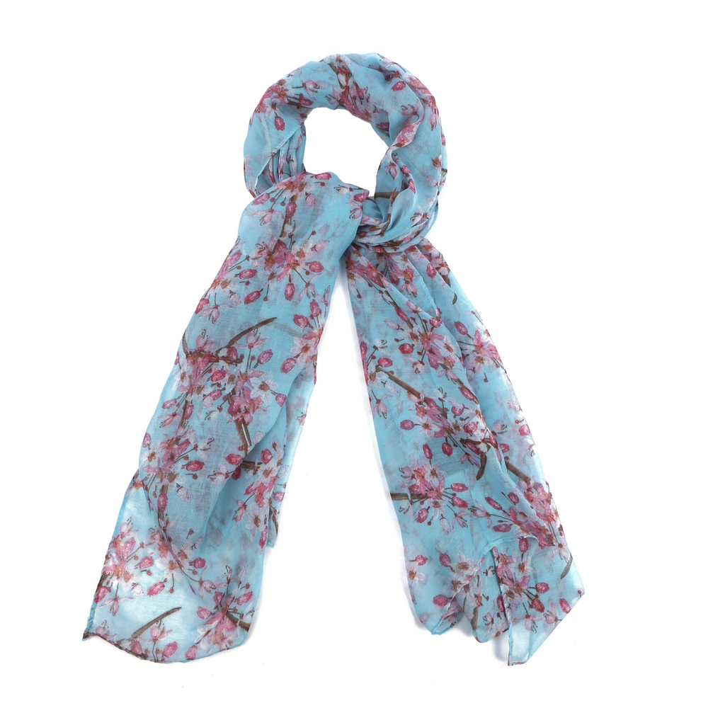 Scarf Oriental Blossom Made With Polyester by JOE COOL