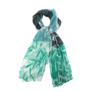 Scarf Bamboo Print Made With Polyester by JOE COOL