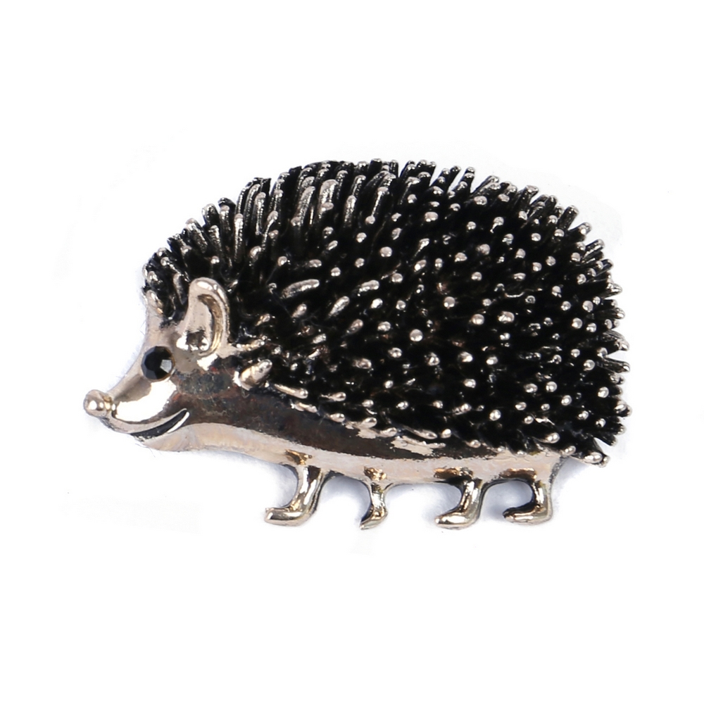Brooch Hedgehog Made With Tin Alloy by JOE COOL
