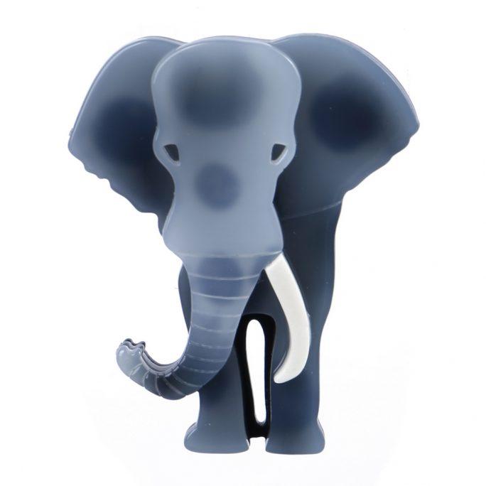 Brooch Elephant Made With Acrylic by JOE COOL