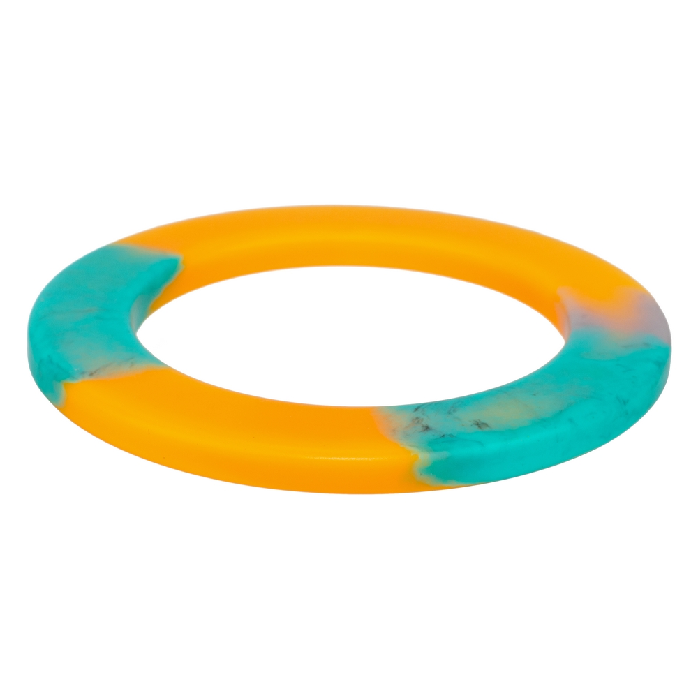 Bangle Colour Slice Made With Acrylic by JOE COOL