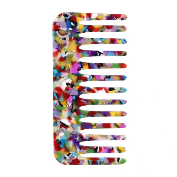 Hairwear Comb Colour Explosion Made With Cellulose by JOE COOL