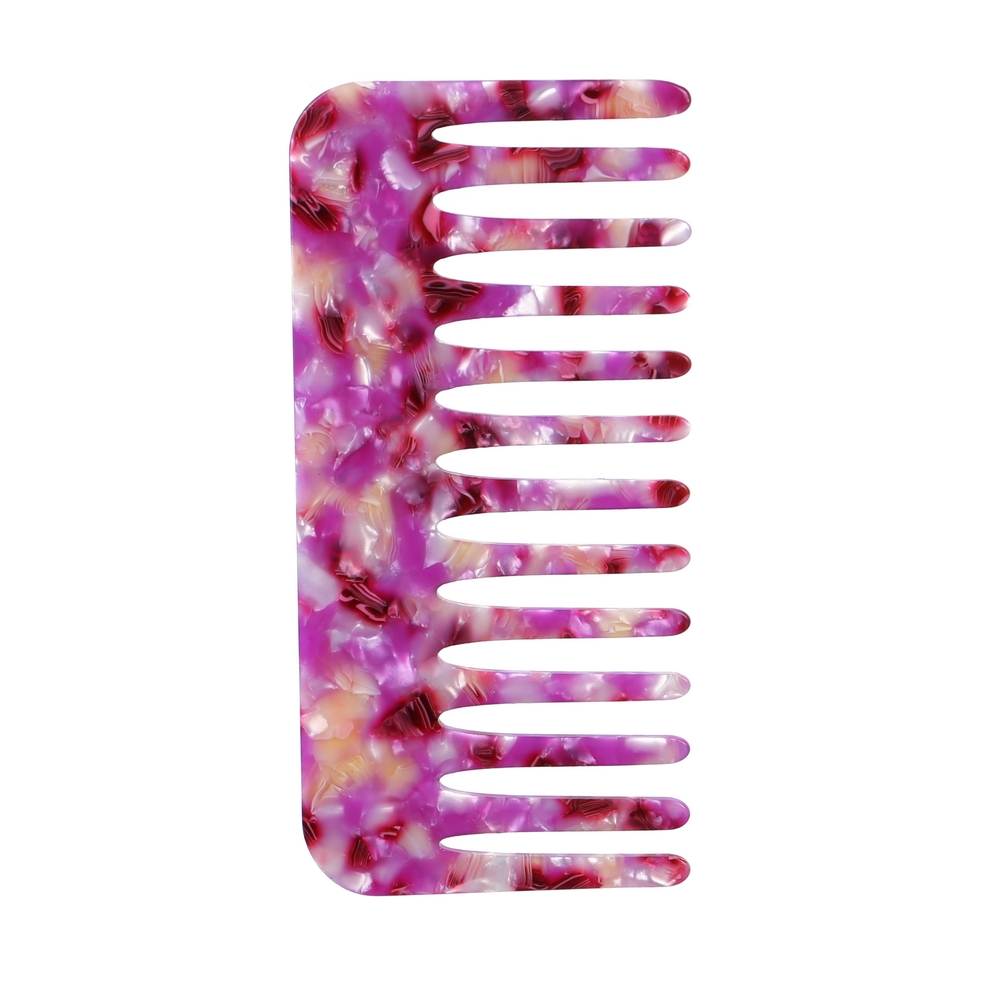 Hairwear Comb Pearl Haze Made With Cellulose by JOE COOL