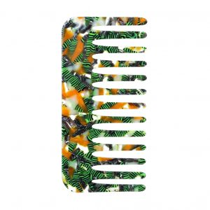 Hairwear Comb Jungle Beat Made With Cellulose by JOE COOL