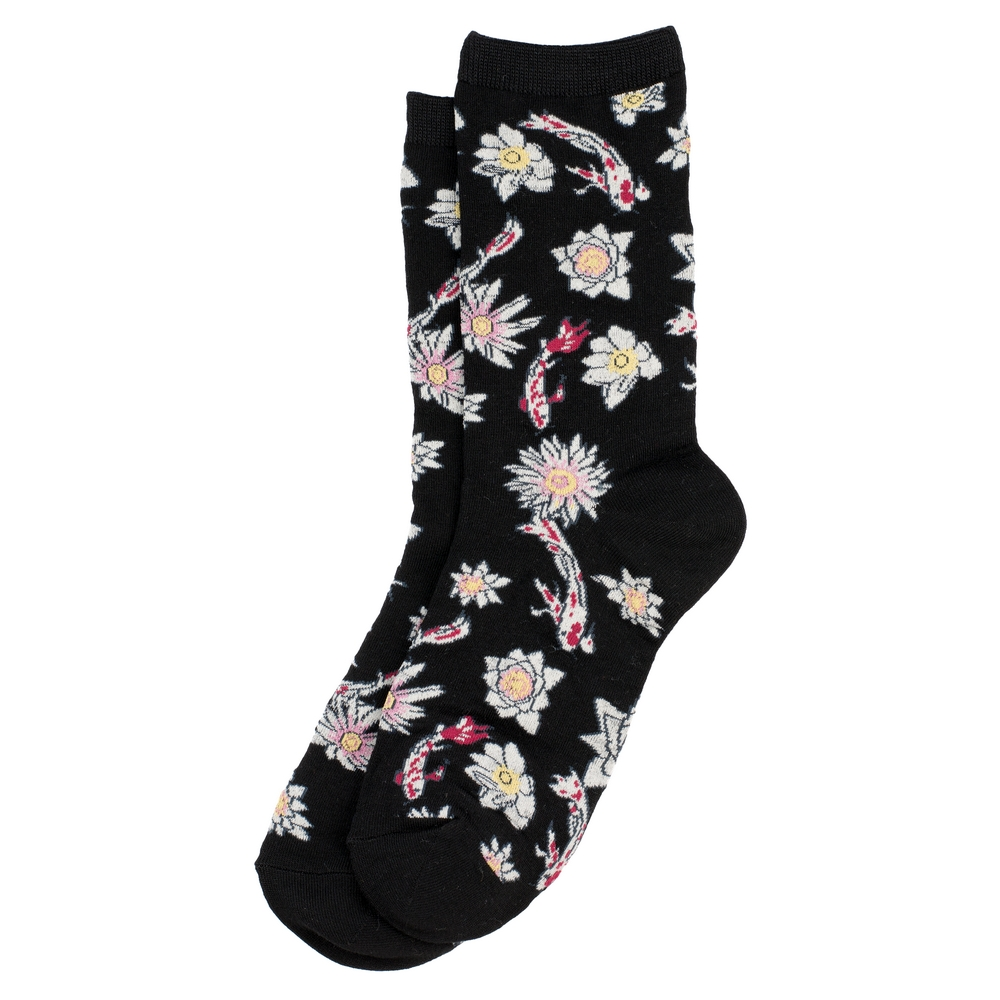 Socks Koi Carp Made With Cotton & Spandex by JOE COOL