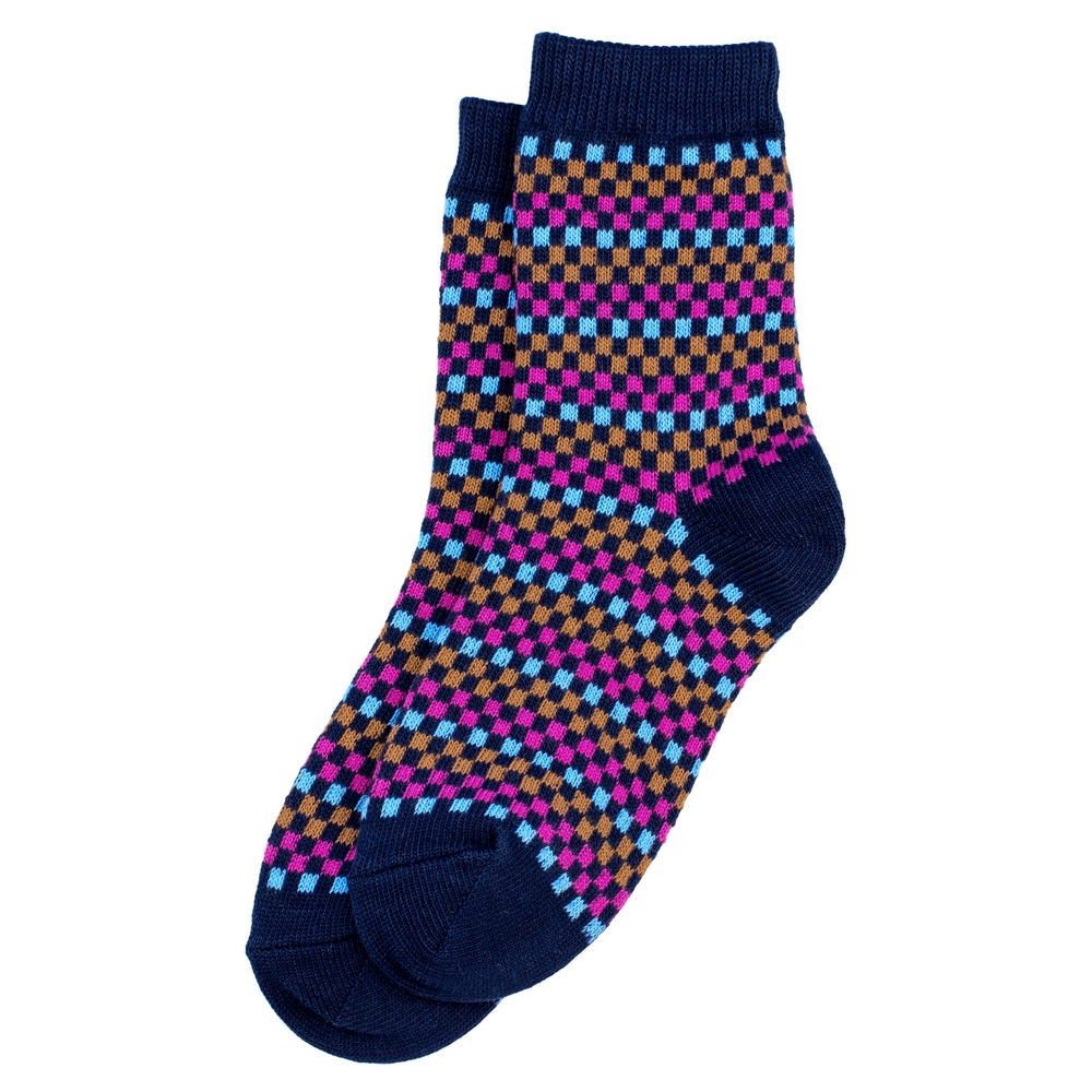 Socks Pixels Made With Cotton & Spandex by JOE COOL