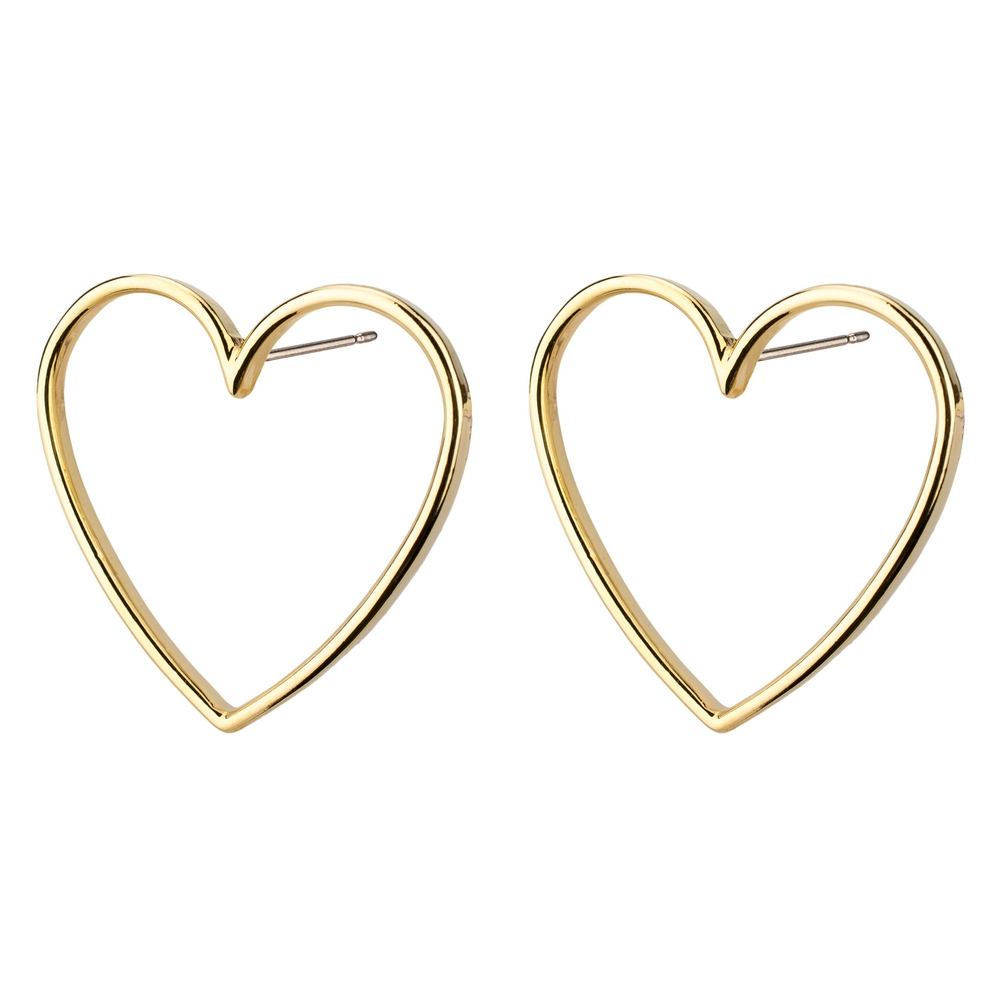 Stud Earring Simply In Love Made With Tin Alloy by JOE COOL