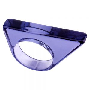 Ring Obtuse Slice Made With Acrylic by JOE COOL