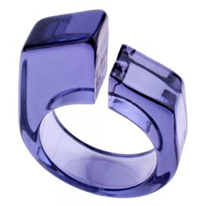 Ring Block Slice Made With Acrylic by JOE COOL