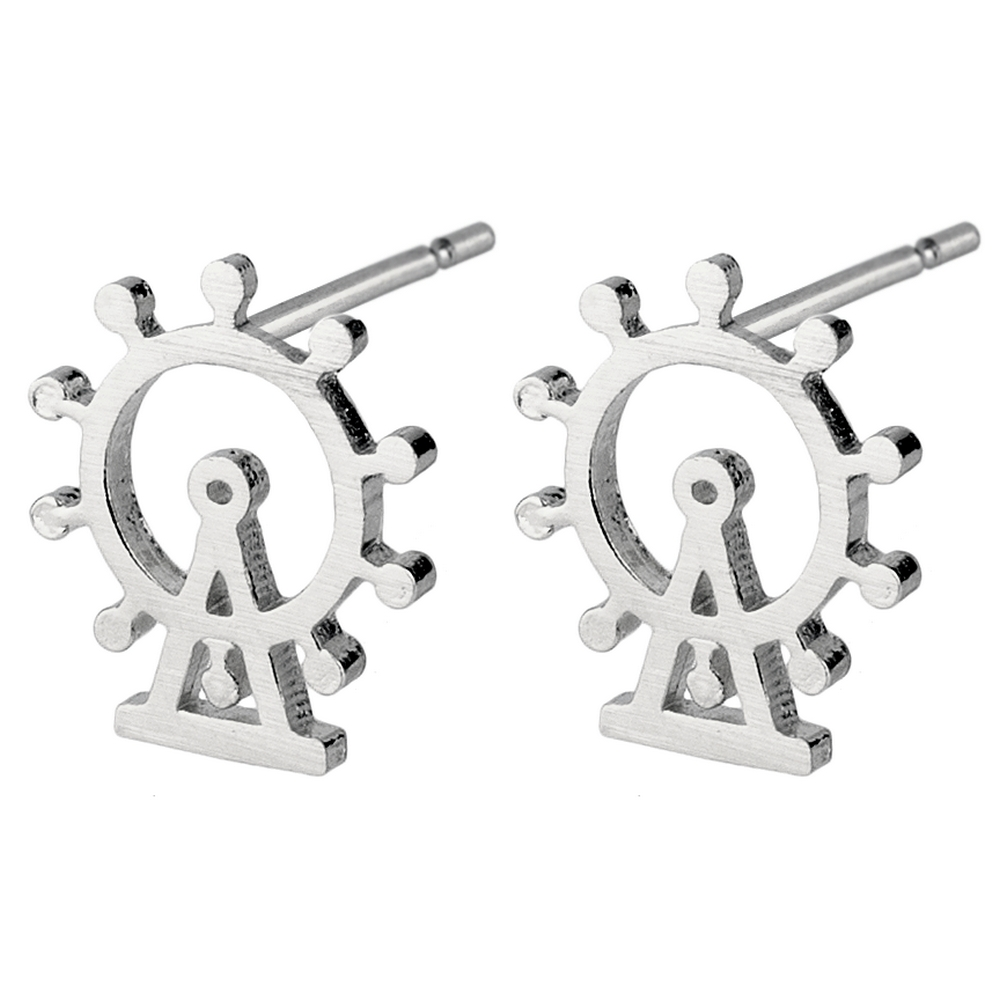 Stud Earring London Eye Made With Tin Alloy by JOE COOL