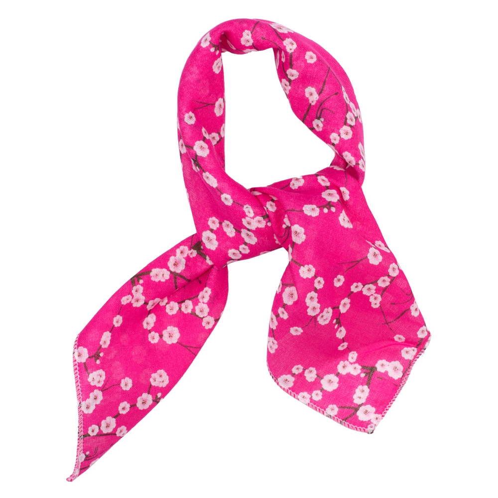 Scarf Kerchief Blossom Made With Cotton by JOE COOL