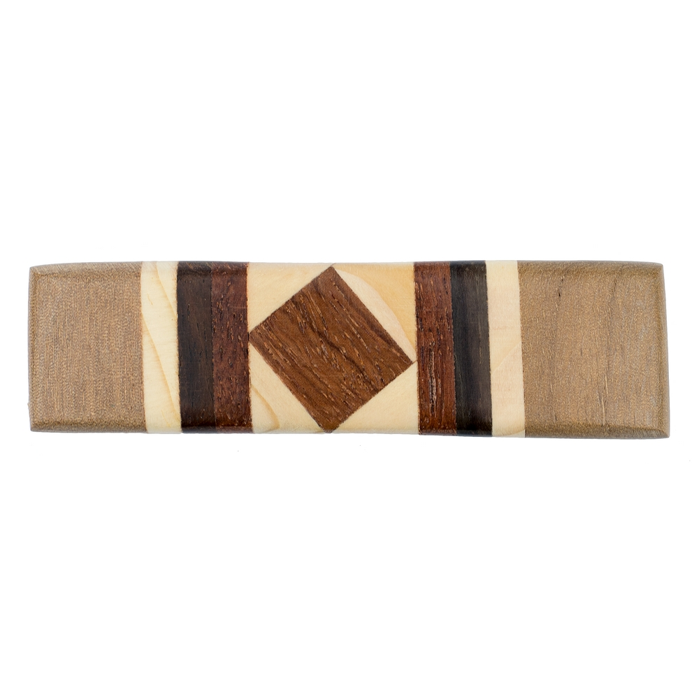 Barrette Fine Deco Oblong Square Centre Made With Wood & Tin Alloy by JOE COOL