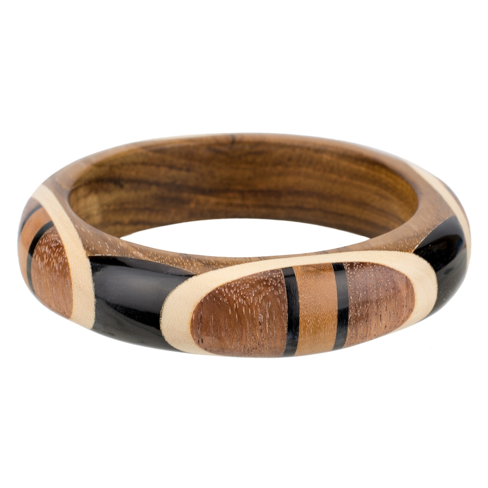 Bangle Fine Deco Made With Wood by JOE COOL
