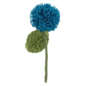 Brooch Single Stem Flower Made With Acrylic & Tin Alloy by JOE COOL