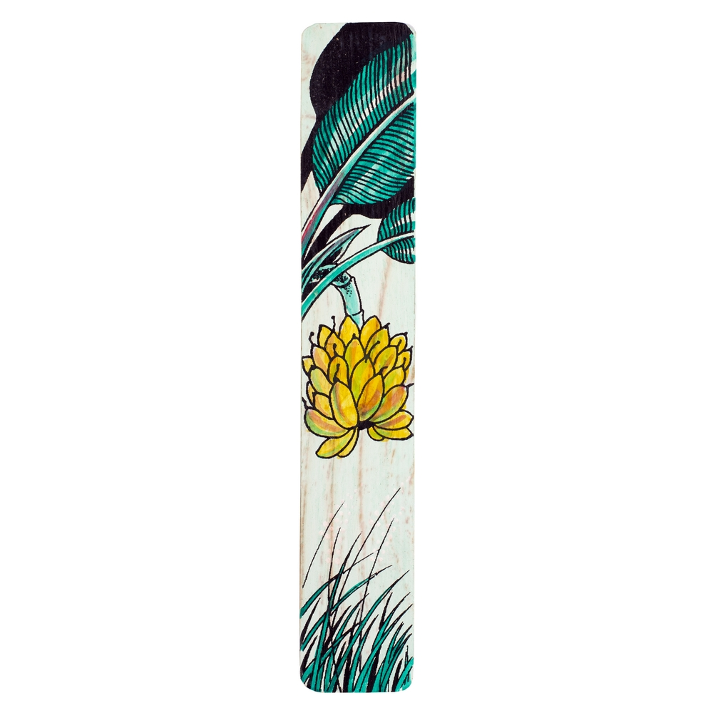 Gift Handpainted Bookmark Palm Made With Bamboo by JOE COOL